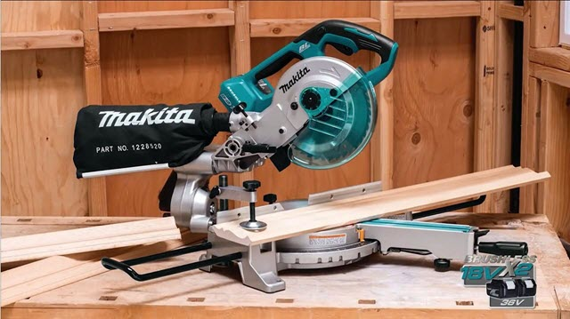 Makita XSL02Z Compound Miter Saw