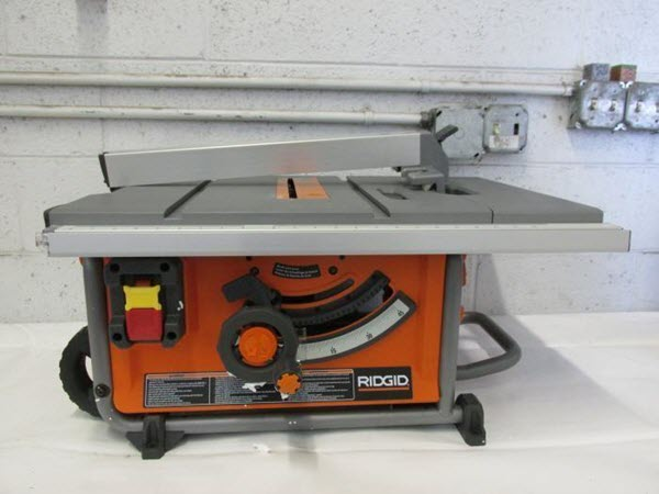 Best portable table saw reviews 2018 our top picks ridgid r4516 portable table saw greentooth Images