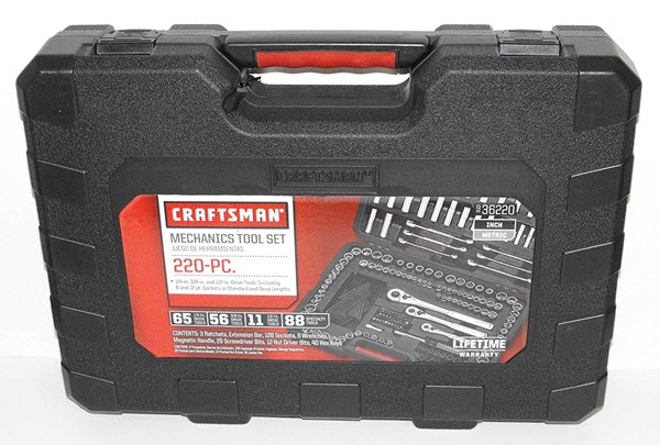 Craftsman 36220 Mechanics Tool Set