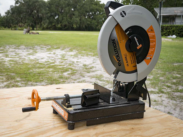 Evolution Power Tools RAGE3 Compound Sliding Miter Saw