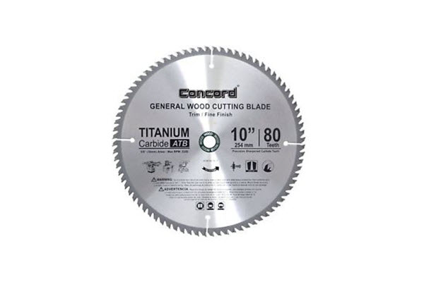 Concord WCB1000T080HP Table Saw Blade