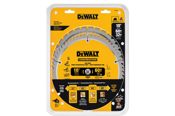 DEWALT DW3106P5 Table Saw Blade