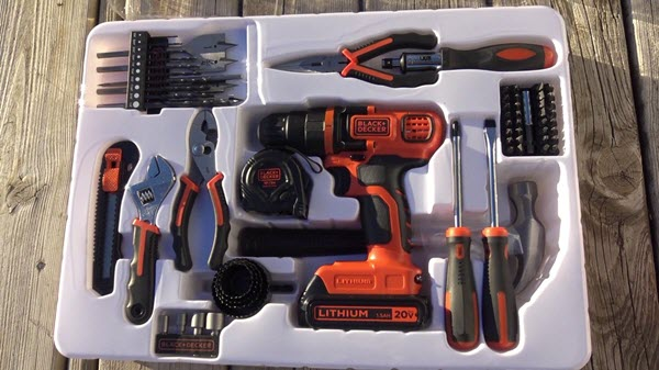 BLACK+DECKER LDX120PK Toolkit