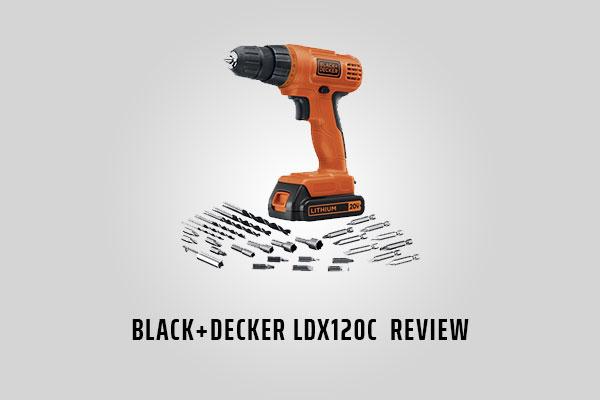 Black & Decker LDX120C Drill [Review]