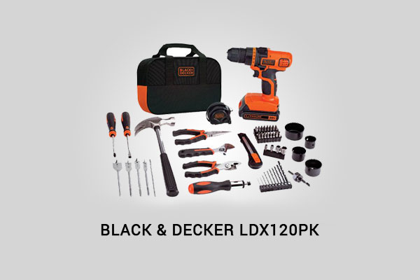 black+decker ldx120pk review