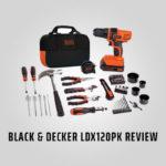 Black & Decker LDX120PX Review