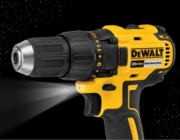 DEWALT DCD777C2 LED Feature
