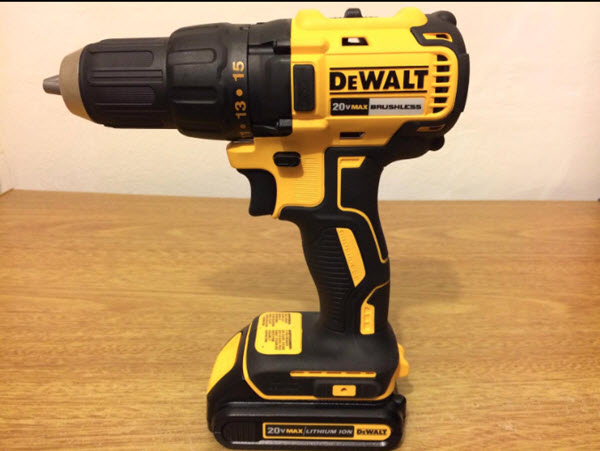 DEWALT DCD777C2 Side View