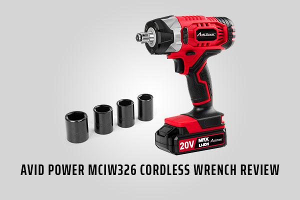 Avid power MCIW326 Cordless wrench