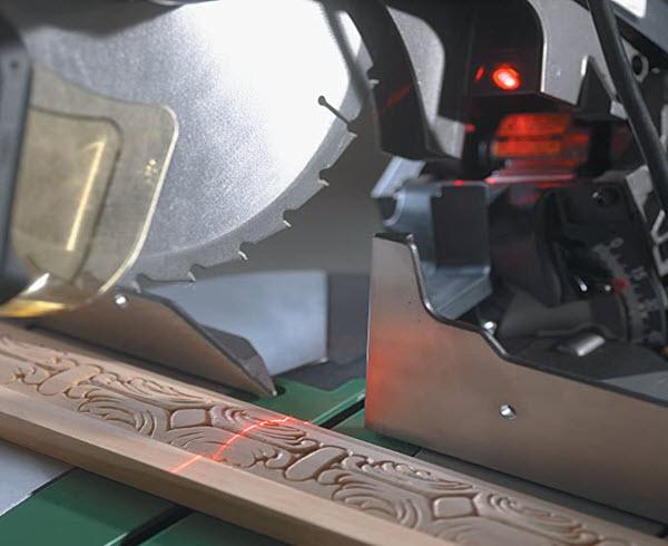 Hitachi C10FCH2 Miter Saw With Laser
