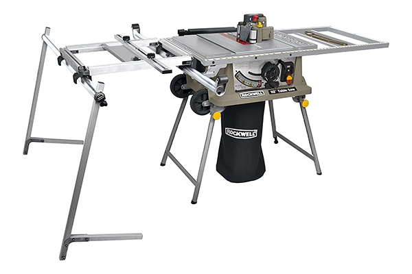 Side View of Rockwell RK7241S Table Saw
