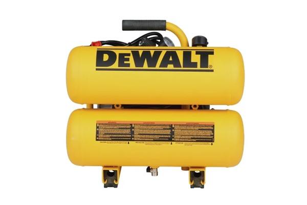 Front View of DEWALT D55153 Air Compressor