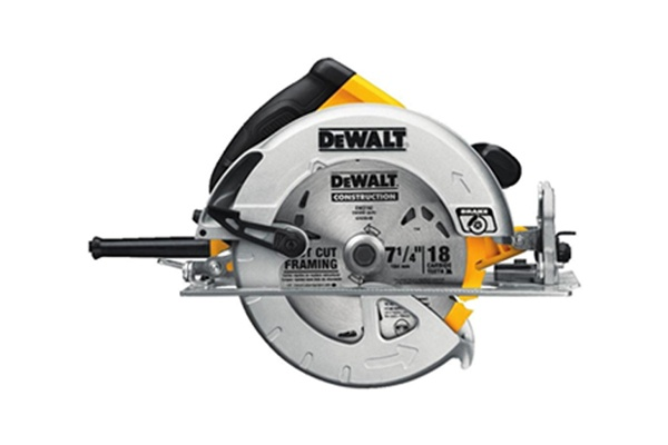 Front View of Dewalt DWE575SB Circular Saw