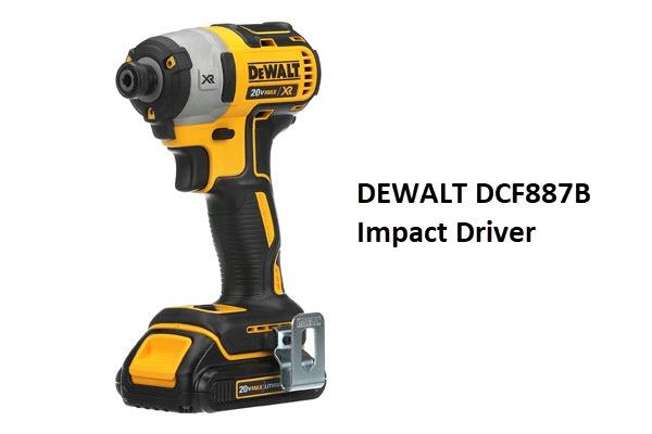DEWALT DCF887B Impact Driver Review