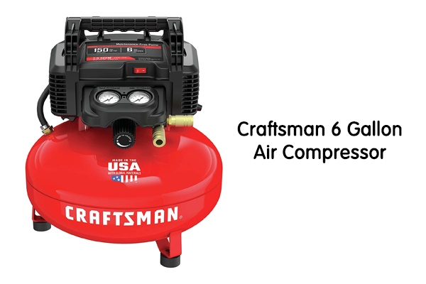 Craftsman 6 Gallon Air Compressor Review