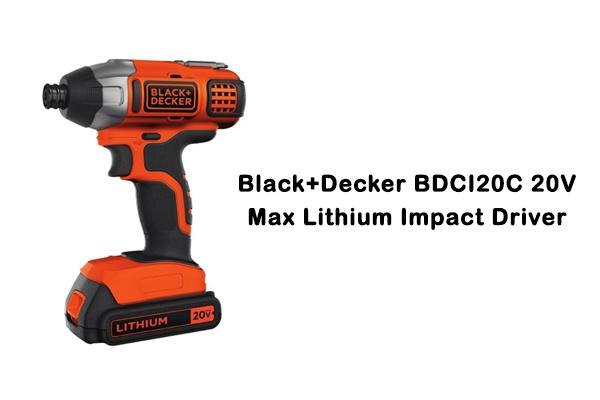 Black+Decker-20V-Max-Lithium-Impact-Driver-Review
