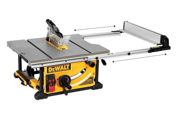 DEWALT DWE7491RS RIP Capacity Table Saw