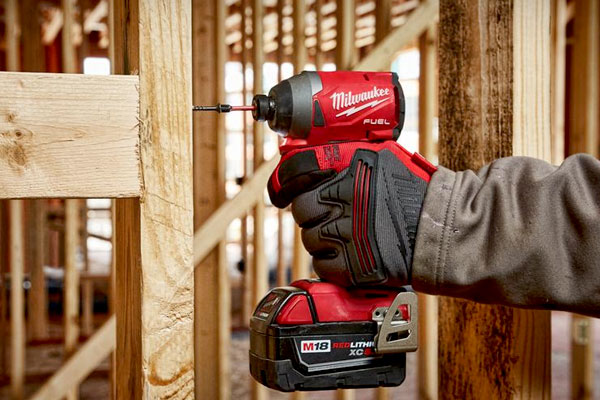 Side view of Milwaukee M18 Fuel Impact Driver