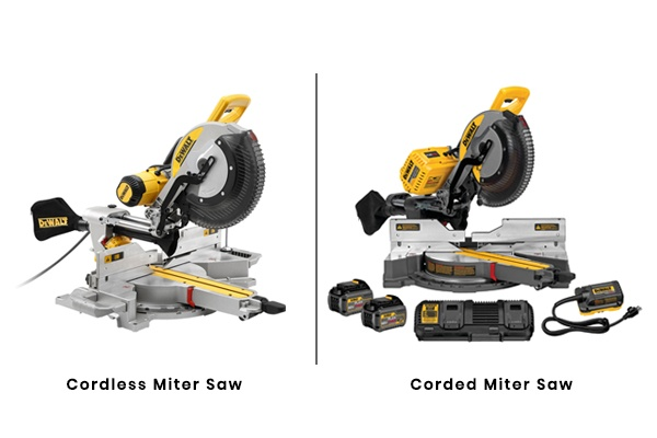 Corded or Cordless Miter Saw
